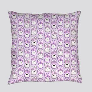 Bunny Wave Everyday Pillow
