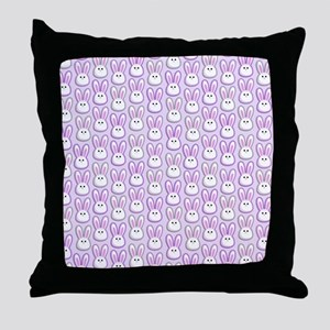 Bunny Wave Throw Pillow