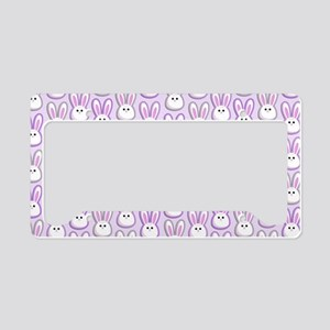 Bunny Wave License Plate Holder