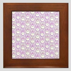 Bunny Wave Framed Tile