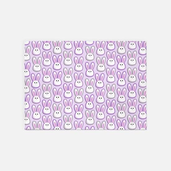 Bunny Wave 5'x7'Area Rug