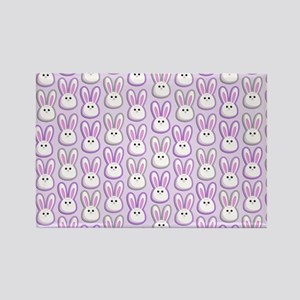 Bunny Wave Rectangle Magnet