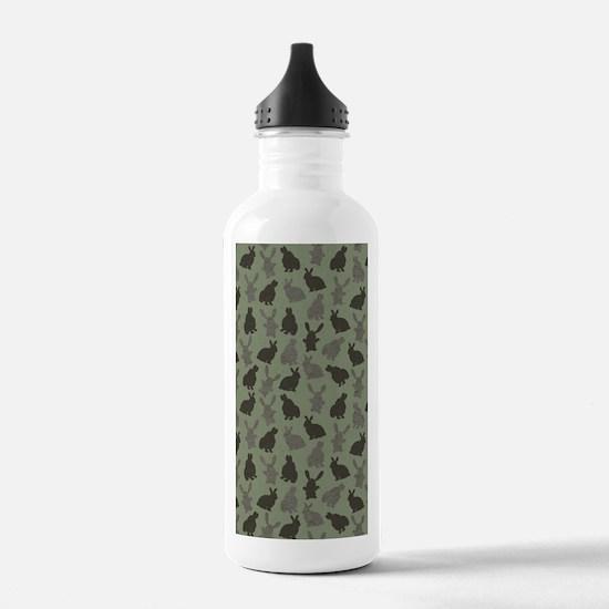 Easter Bunnies Water Bottle