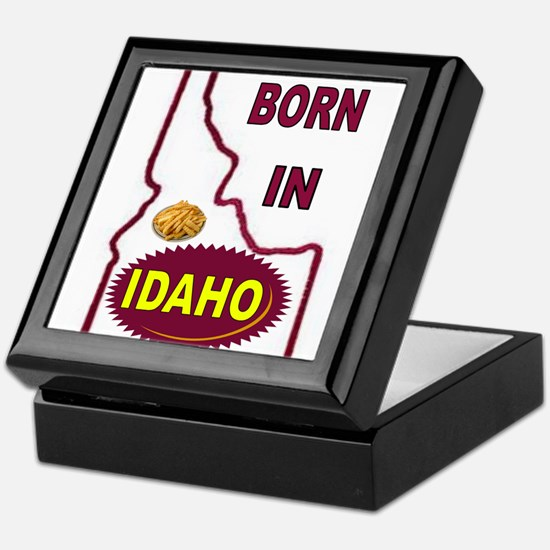 IDAHO BORN Keepsake Box