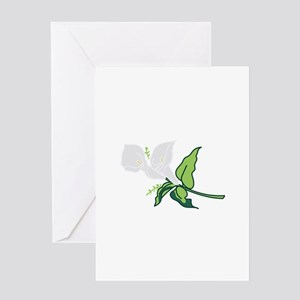 Calla Lily Greeting Cards