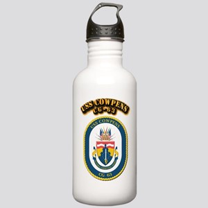 USS Cowpens (CG-63)-Wi Stainless Water Bottle 1.0L
