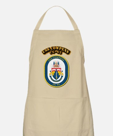 USS Cowpens (CG-63)-With Text Apron