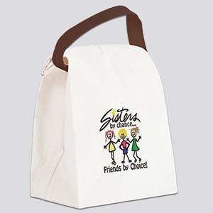 Friends By Choice Canvas Lunch Bag