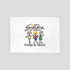 Friends By Choice 5'x7'Area Rug