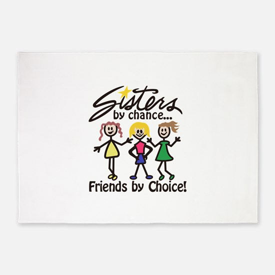 Friends By Choice 5'x7'Area Rug