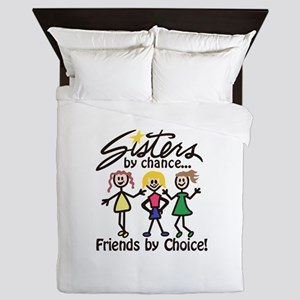 Friends By Choice Queen Duvet