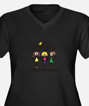 Friends By Choice Plus Size T-Shirt