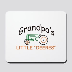 "Grandpas Little ""Deeres"" Mousepad"