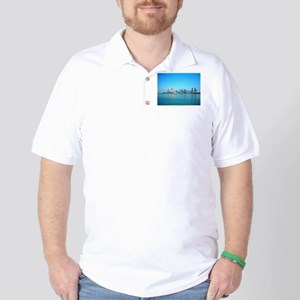 San Diego skyline Golf Shirt