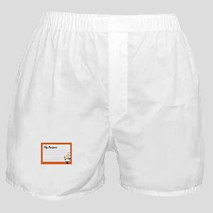 Recipe Card Boxer Shorts