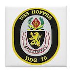 USS HOPPER Tile Coaster