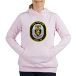 USS HOPPER Women's Hooded Sweatshirt
