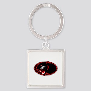 Panther Logo Keychains