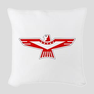 Thunderbird Woven Throw Pillow
