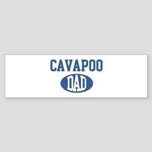 Cavapoo dad Bumper Sticker