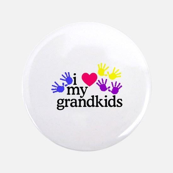 I Love My Grandkids/Hands Button