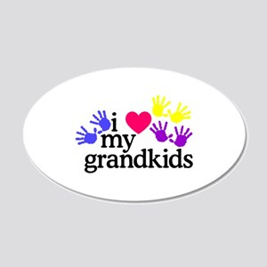 I Love My Grandkids/Hands Wall Decal