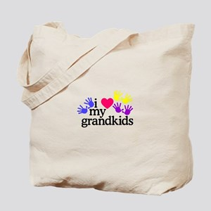 I Love My Grandkids/Hands Tote Bag