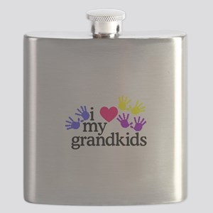 I Love My Grandkids/Hands Flask