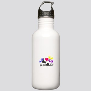 I Love My Grandkids/Hands Water Bottle
