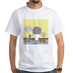 Cats and Toilets White T-Shirt