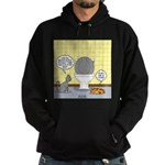 Cats and Toilets Hoodie (dark)