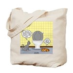 Cats and Toilets Tote Bag