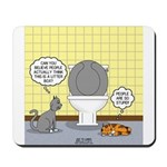 Cats and Toilets Mousepad