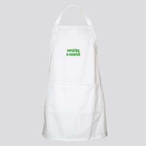 Everything is connected BBQ Apron