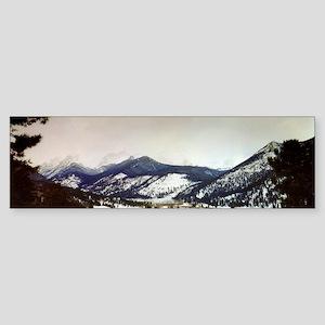 Rocky Mountain National Park Bumper Sticker