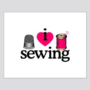 I Love Sewing/Thimble & Spool Posters