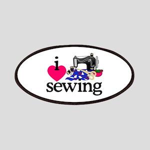 I Love Sewing/Machine Patch