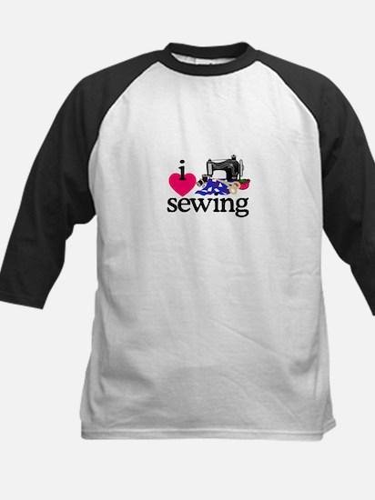 I Love Sewing/Machine Baseball Jersey