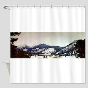 Rocky Mountain National Park Shower Curtain
