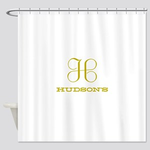 Hudson's Classic Shower Curtain