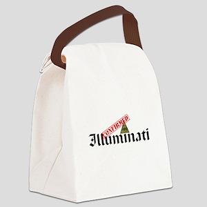 Illuminati Confirmed Canvas Lunch Bag