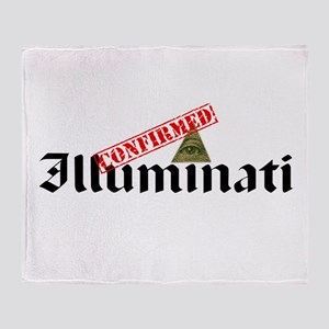 Illuminati Confirmed Throw Blanket