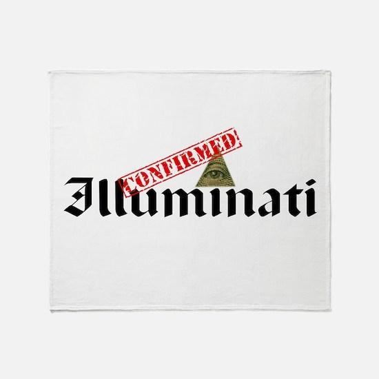 Illuminati Confirmed Throw Blanket
