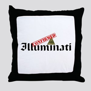 Illuminati Confirmed Throw Pillow