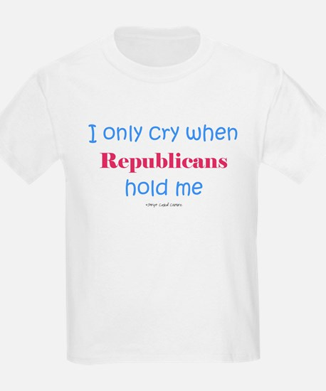 Dont' let Republicans hold me T-Shirt