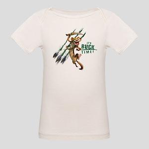 It's Buck Time Organic Baby T-Shirt