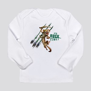 It's Buck Time Long Sleeve Infant T-Shirt