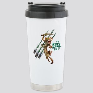 It's Buck Time Stainless Steel Travel Mug