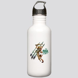 It's Buck Time Stainless Water Bottle 1.0L