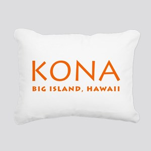 KONA, Big Island, Hawaii Rectangular Canvas Pillow
